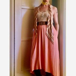 Funktional High Low Calcada Dress w/ POCKETS!